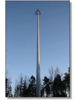 Monopoles Design Fabrication And Installation Fred A